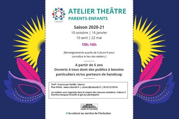 ATELIER THÉÂTRE PARENTS-ENFANTS