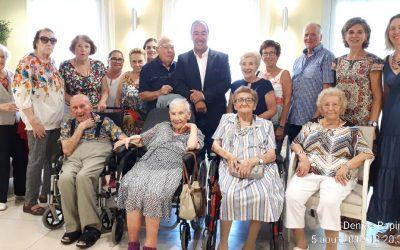 Notre doyenne Marguerite COMMES Saint-Georgienne a fêté ses 108 ans