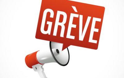 GRÈVE – Mardi 24 septembre 2019