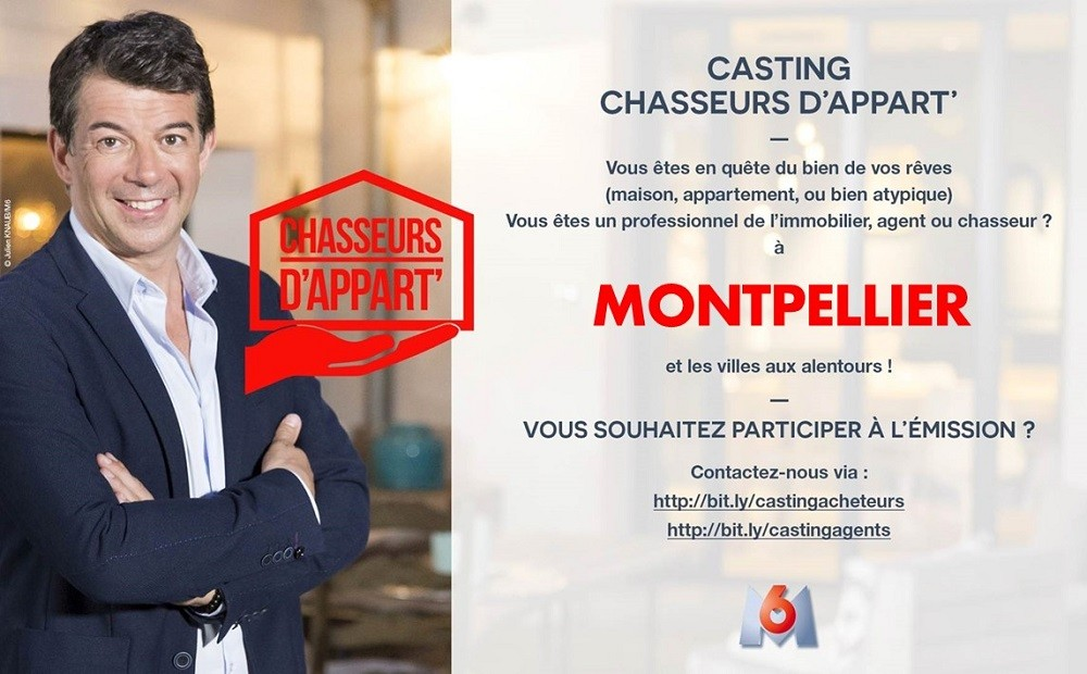 Casting chasseurs d'appart'