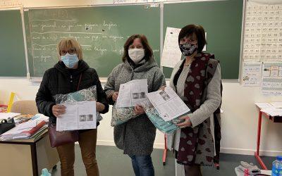 Distribution de masques pour les écoliers
