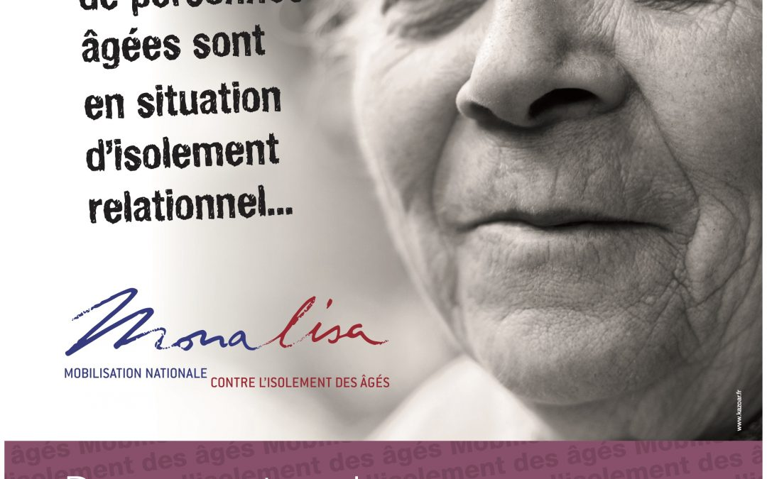 Mona Lisa cherche bénévoles pour accompagner nos seniors isolés